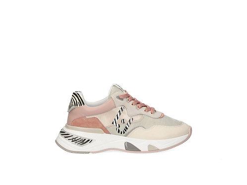 Sneakers roses avec imprimé animalier LIUJO  BA1037TX159S1416