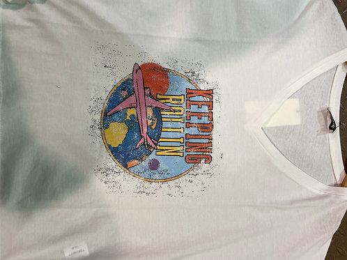 Tee-shirt à motif imprimé T26R077