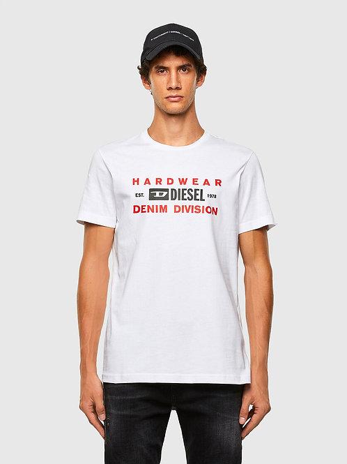 DIESEL T-DIEGOS-K32 T-shirt avec imprimé Denim Division