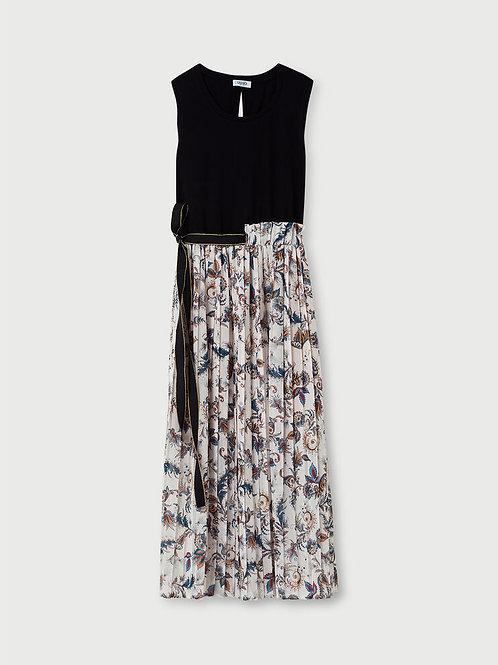Robe longue plissée LIUJO    WA1584T5975T9963