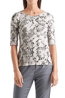 MARC CAINTee-shirt en coton à motif serpent PS 48.87 J75 col. 151