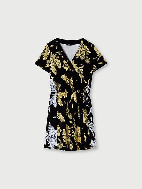Robe courte avec imprimé LIUJO   TA1121J6182T9784