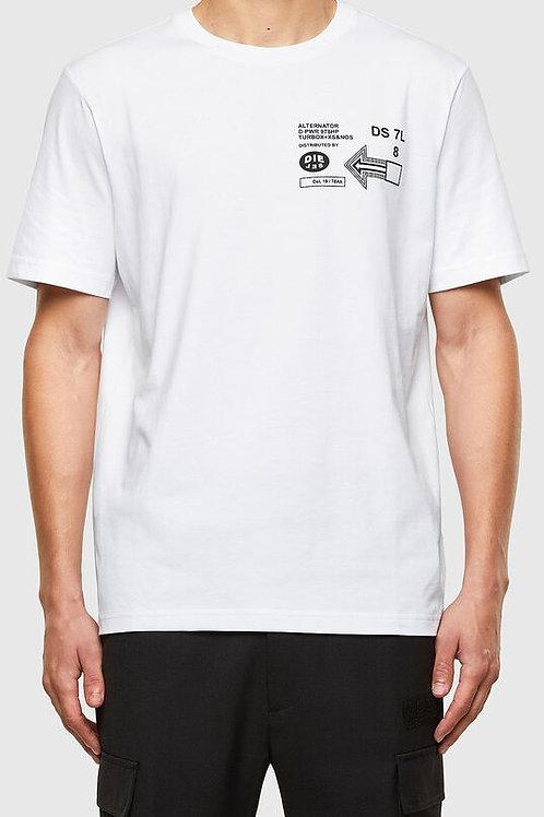 DIESEL T-shirt A39 Blanc