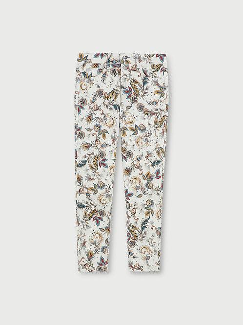 Pantalon cropped avec imprimé WA1096T8122T9688