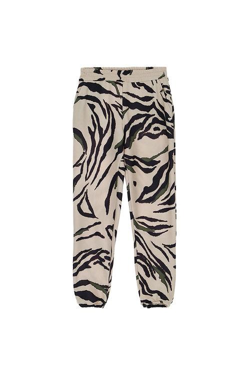 Pantalon de jogging zébré à taille élastique COD. P6400PL582
