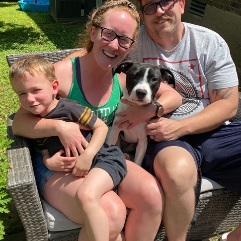 Hattie and her Furever Family
