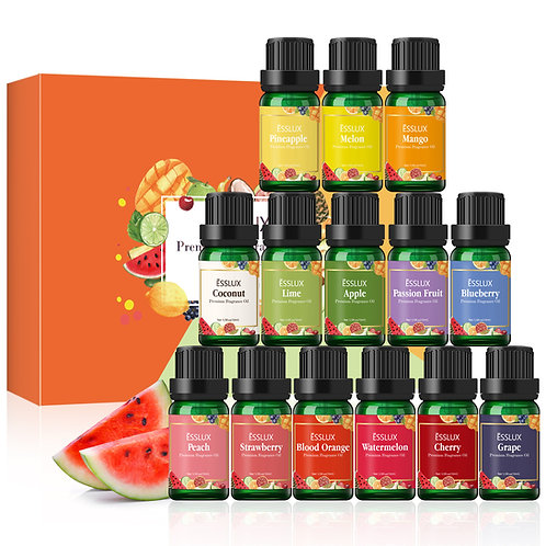 ESSLUX Fruity Fragrance Oils Set