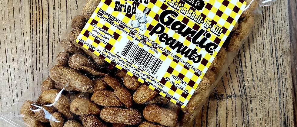 The Peanut Trading Co: Southern Fried Garlic Peanuts