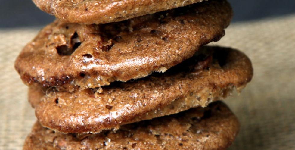 Pecan Crisp Cookies