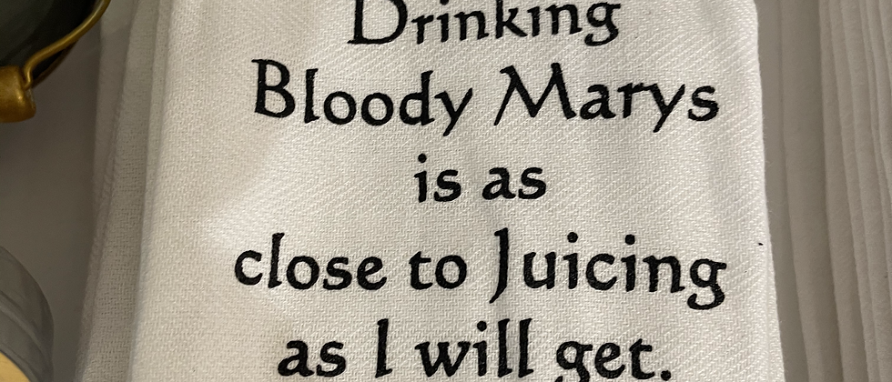 Bruce Jillian Bloody Mary Tea Towel