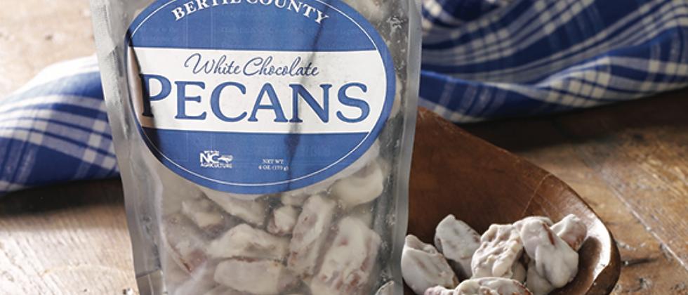 Bertie County White Chocolate Pecans