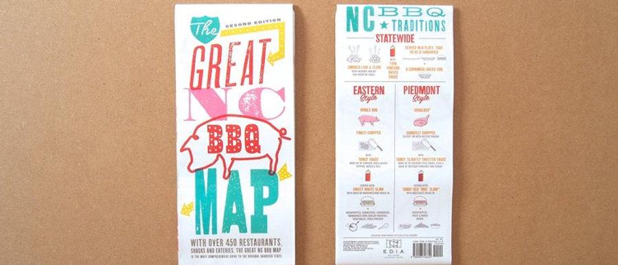 EDIA NC BBQ Map