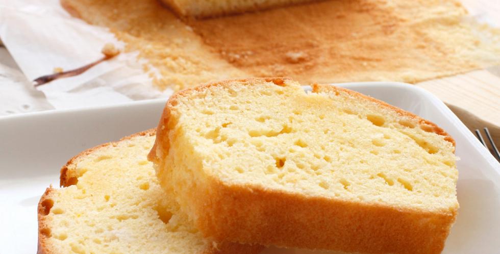 Cream Cheese Pound Cake (serves 12)
