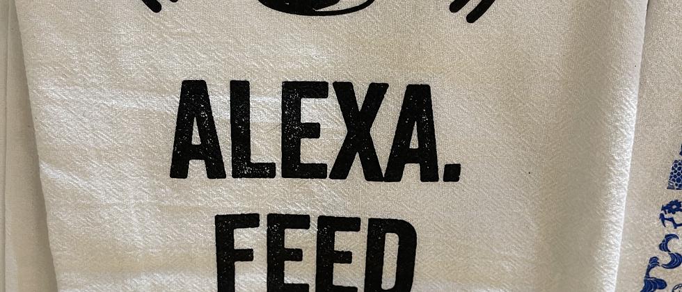KLG Alexa Tea Towel