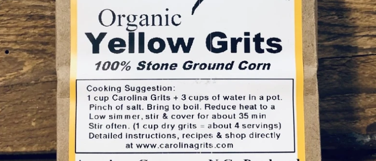 Carolina Grits Yellow Grits