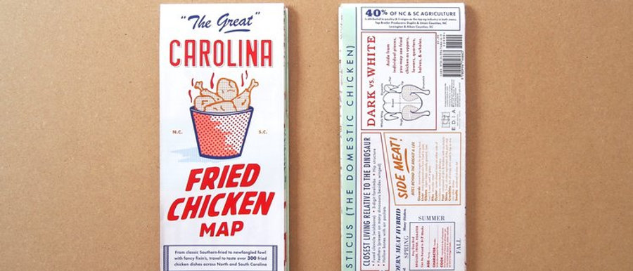 EDIA NC Fried Chicken Map