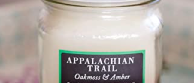 Southern Elegance Candle Co. Appalachian Trail 8oz Candle
