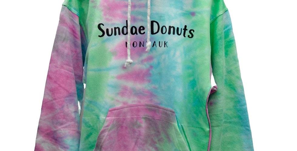 Sundae Donuts Tie Dye Hoody (Adults)