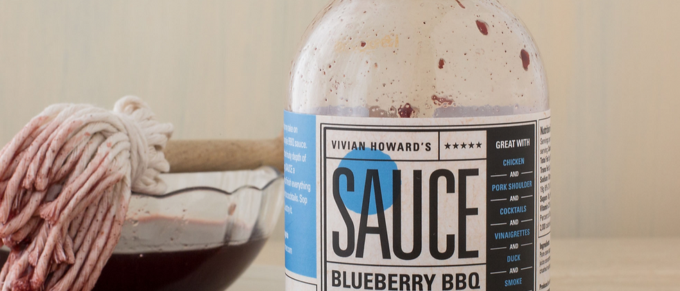 Vivian Howard Blueberry BBQ Sauce