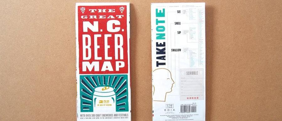 EDIA NC Beer Map