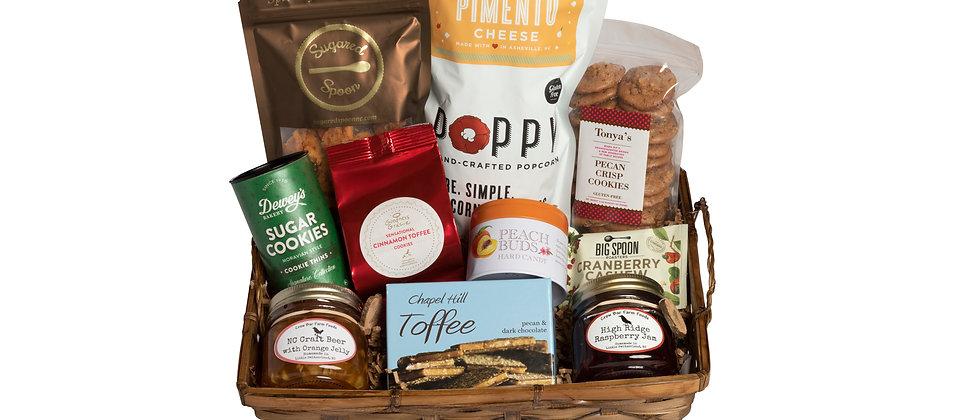 Sweet Tea & Cornbread NC Gift Basket