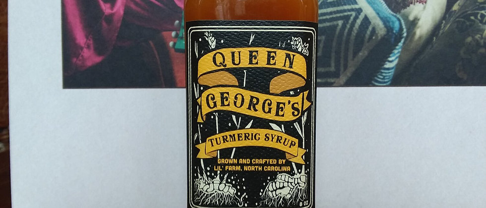 Queen George's Ginger Syrup
