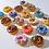 Thumbnail: Chocolate DIY Decorating Mini Kit (12 Donuts)