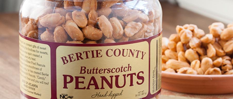 Bertie County Butterscotch Peanuts