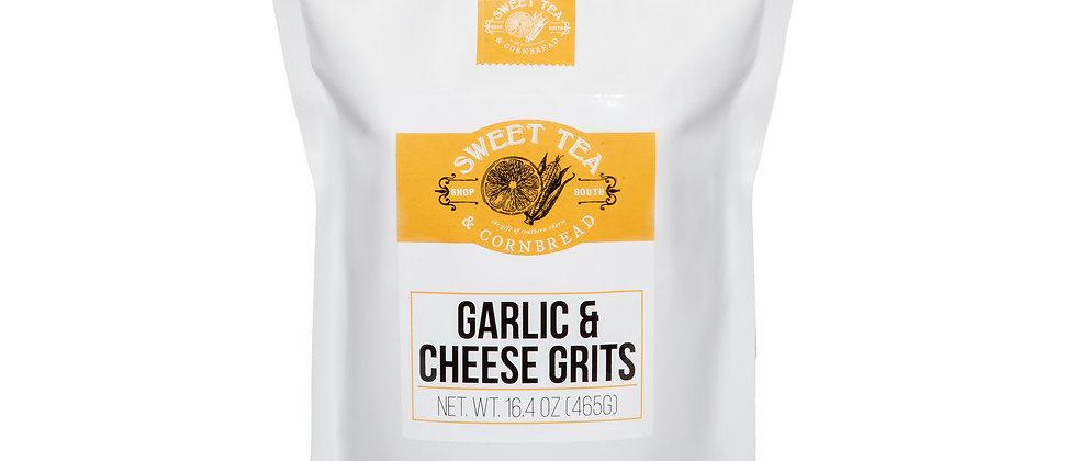 Sweet Tea & Cornbread Garlic & Cheese Grits