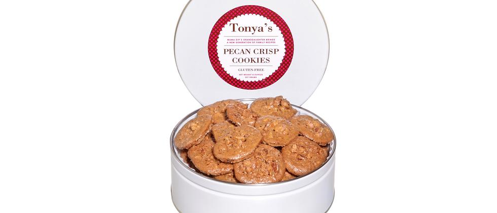 Pecan Crisp Cookie Tins