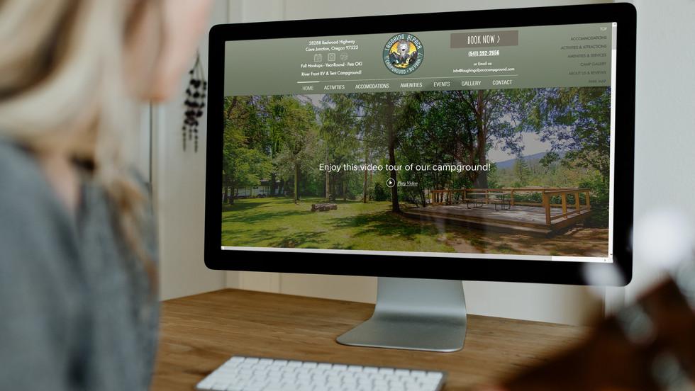 Laughing Alpaca Campground Web Mockup 1.