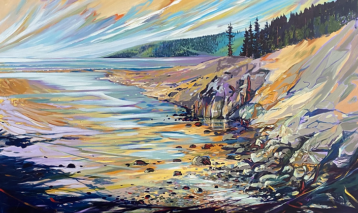 Tide To Reflect 60x36