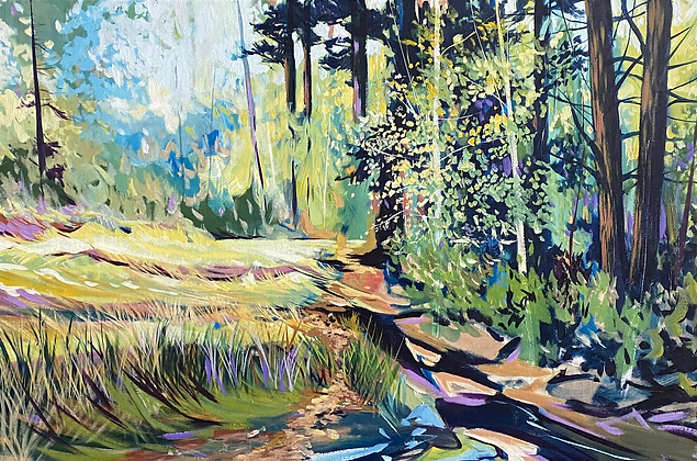 Walk with my Brother 36x24