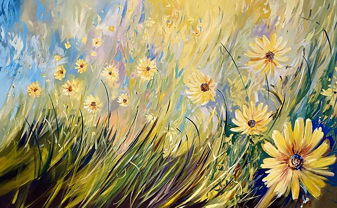 Ahead of Spring 48x30