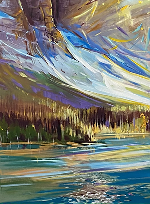 Cool Water 18x24