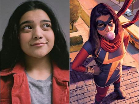 NEWS FLASH-Iman Vellani Cast as Kamala Khan in Ms. Marvel