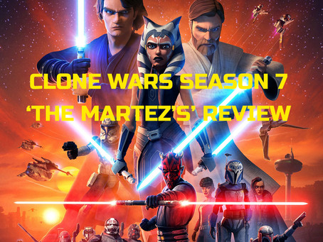 """THE CLONE WARS: """"THE MARTEZ SISTERS"""" ARC REVIEW"""