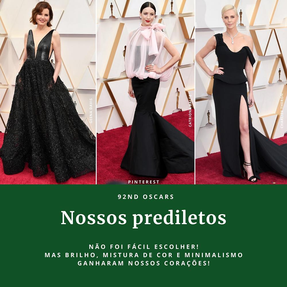 Vestidos usado por atrizes no 92nd Oscars 2020