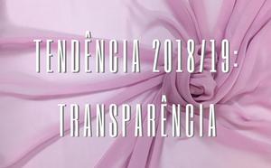 Transparência tendência 2019