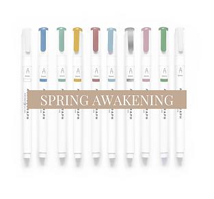 Acrylograph Pack - Spring Awakening 0.7mm - Pen Pack