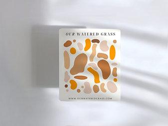 Sticker Sheet: Abstract Sticker Sheet
