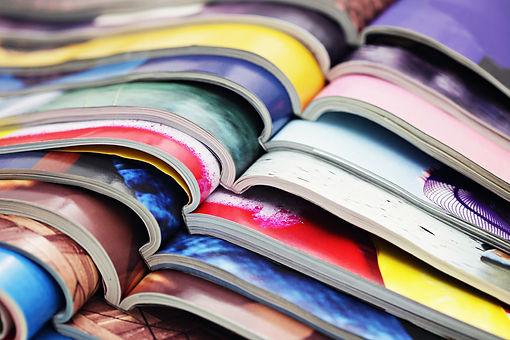 riviste impilate