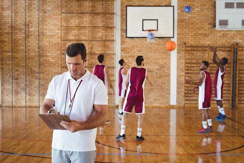 coach basketball