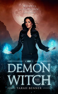 Tarah Benner - Demon Witch (ebook cover)