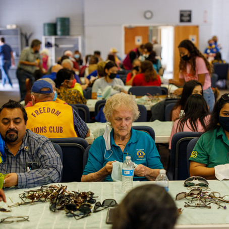 New partnership with local Lions Clubs, many others, is a huge success