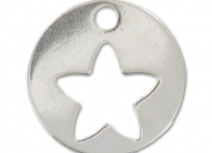 Bracelet cordon  - Pendentif étoile argent 925