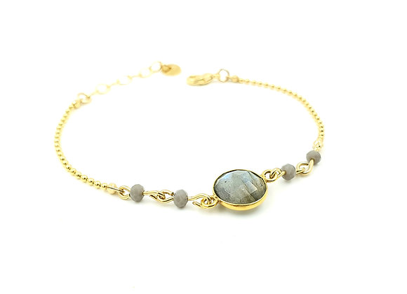 collection GALATEE : le bracelet labradorite
