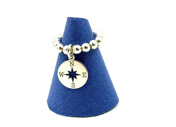 Bague argent 925 - pendentif étoile polaire