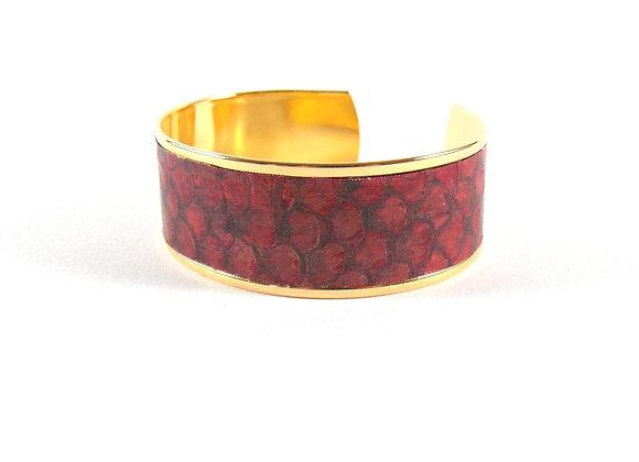 BAÏNES - Mulet rouge aux reflets bronze (23 mm)