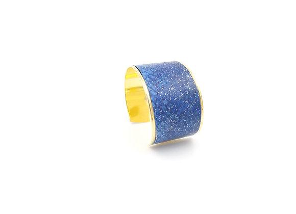 Saumon bleu pailleté (37 mm)